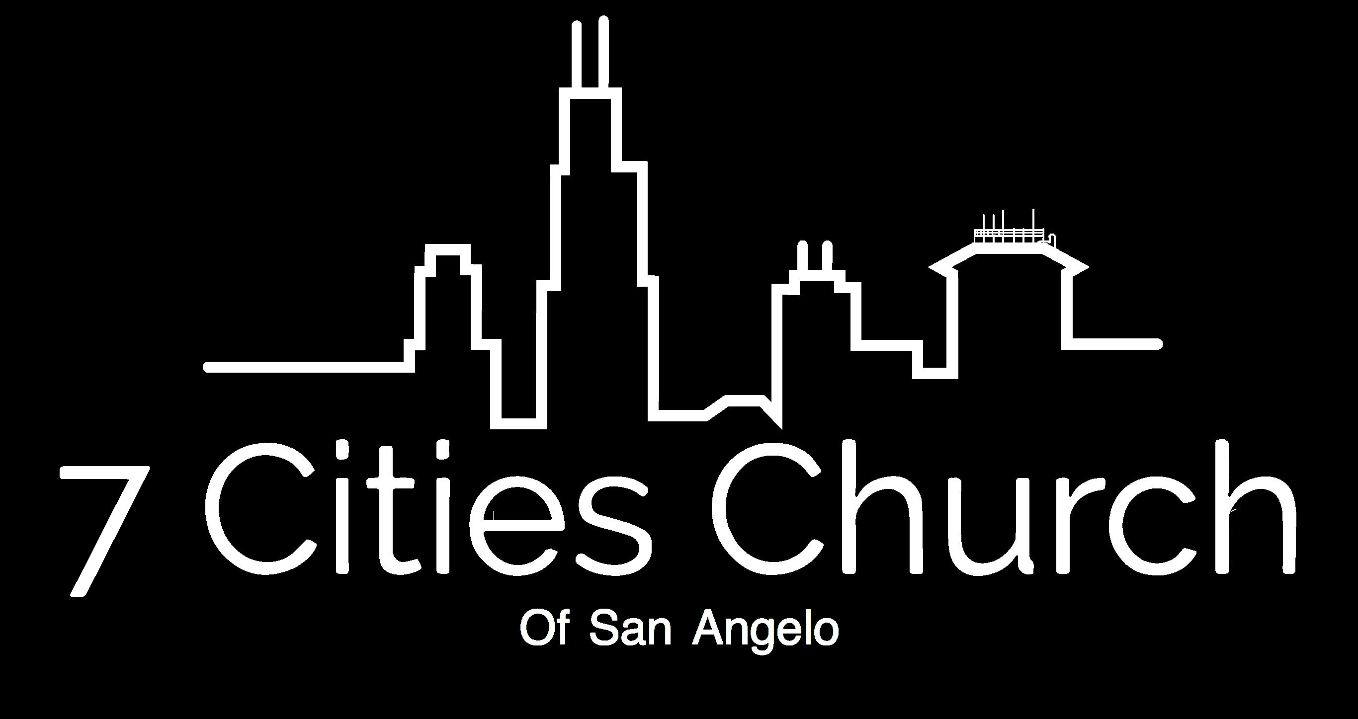 seven cities church of san angelo logo
